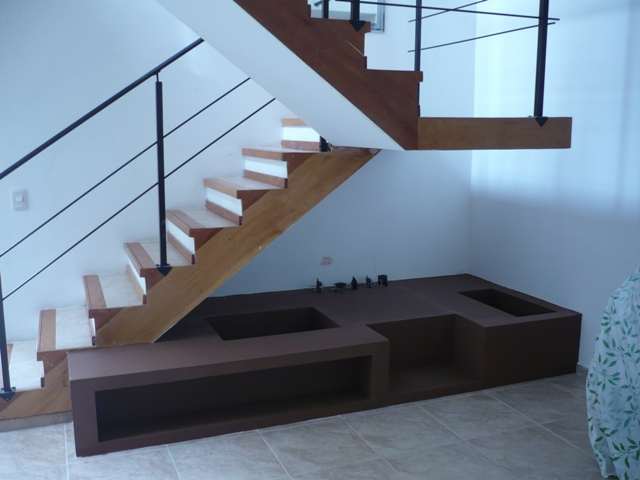 Mueble Bajo Escalera La Plata Durlock