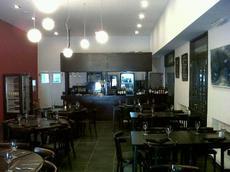 Cielorraso en Restaurante